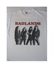 Badlands - s/t Japan Tour'89 White T-shirt